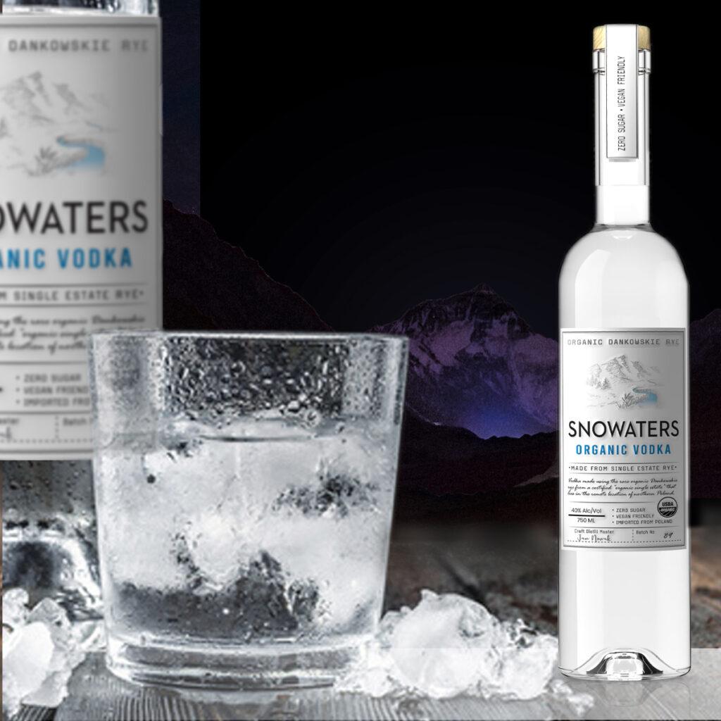 Snowaters Organic Vodka Ice